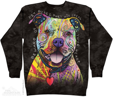 The Mountain Beware Of The Pit Bulls pulóver