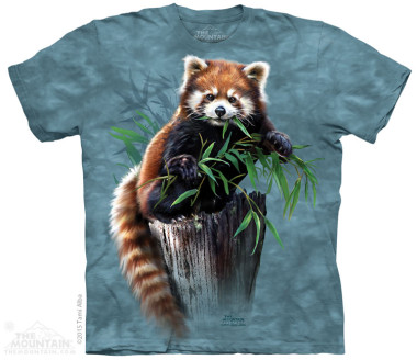 The Mountain Bamboo Red Panda rövid ujjú póló
