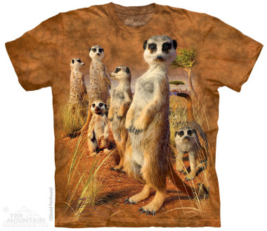 The Mountain Meerkat Pack rövid ujjú póló